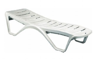 Chaise longue plastique de piscine - Devis sur Techni-Contact.com - 1
