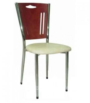 Chaise métallique avec dossier en bois - Devis sur Techni-Contact.com - 1