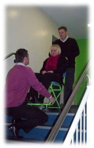 Chaise portoir 4 roues - Devis sur Techni-Contact.com - 2