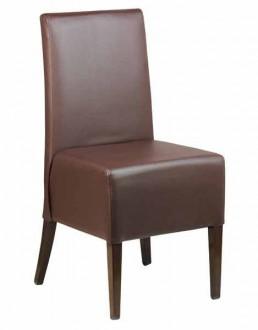Chaise pour restaurant en simili cuir - Devis sur Techni-Contact.com - 1