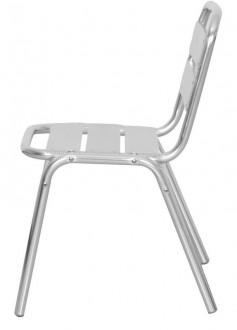 Chaise pour terrasse en aluminium - Devis sur Techni-Contact.com - 2