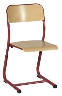 Chaise réglable simple galbe - Devis sur Techni-Contact.com - 1