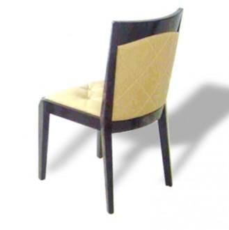 Chaise rembourrée avec dossier en simili-cuir - Devis sur Techni-Contact.com - 1