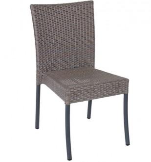 Chaise restaurant aluminium ADANA - Devis sur Techni-Contact.com - 1