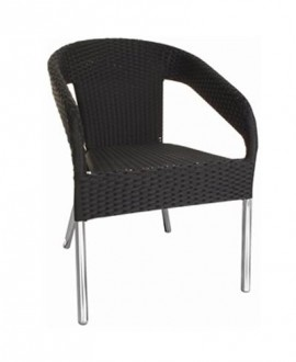 Chaise rotin empilable - Devis sur Techni-Contact.com - 1