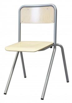 Chaise scolaire 4 pieds appui sur table - Devis sur Techni-Contact.com - 1