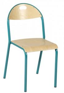 Chaise scolaire à 4 pieds - Devis sur Techni-Contact.com - 1