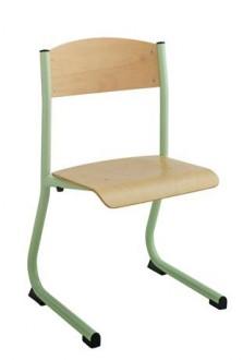 Chaise scolaire avec appui sur table - Devis sur Techni-Contact.com - 1