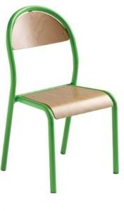 Chaise pour maternelle en bois - Devis sur Techni-Contact.com - 1
