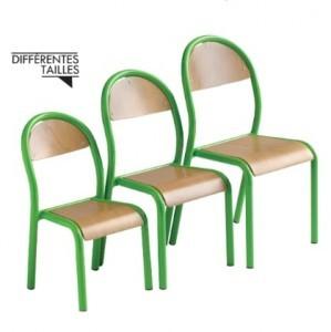 Chaise pour maternelle en bois - Devis sur Techni-Contact.com - 2