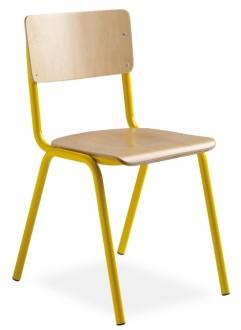 Chaise scolaire empilable - Devis sur Techni-Contact.com - 1