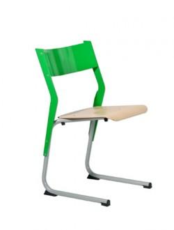 Chaise scolaire empilable appui sur table - Devis sur Techni-Contact.com - 1