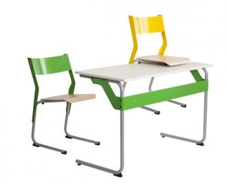 Chaise scolaire empilable appui sur table - Devis sur Techni-Contact.com - 4