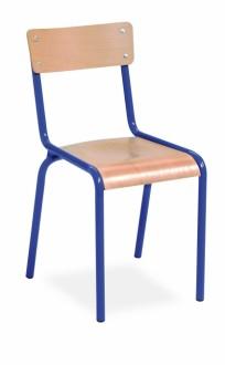 Chaise scolaire en hêtre empilable - Devis sur Techni-Contact.com - 1