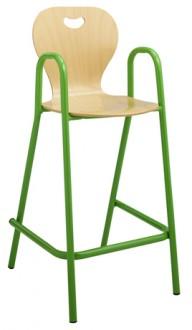 Chaise scolaire haute coque bois - Devis sur Techni-Contact.com - 1