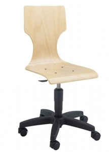 Chaise scolaire informatique coque bois - Devis sur Techni-Contact.com - 2