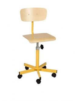 Chaise scolaire informatique réglable - Devis sur Techni-Contact.com - 1