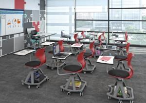 Chaise scolaire multimédia - Devis sur Techni-Contact.com - 4