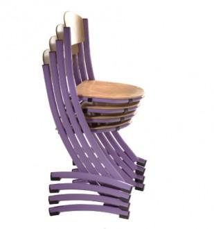 Chaise scolaire bois taille 3 ou 6 - Devis sur Techni-Contact.com - 2