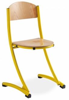 Chaise scolaire bois taille 3 ou 6 - Devis sur Techni-Contact.com - 3