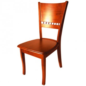 Chaise simple en bois pour restaurant - Devis sur Techni-Contact.com - 1