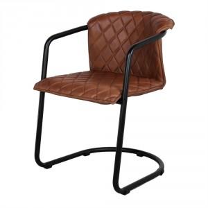 Chaise style Mid century en cuir - Devis sur Techni-Contact.com - 2