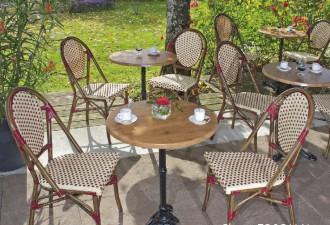 Chaise terrasse restaurant style rotin - Devis sur Techni-Contact.com - 2