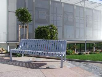Chaise urbaine à lattes acier mécanosoudé - Devis sur Techni-Contact.com - 4