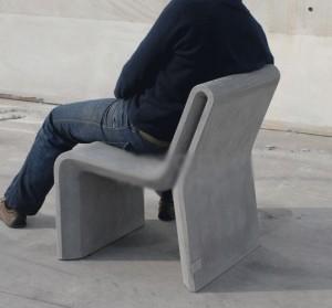Chaise urbaine en béton - Devis sur Techni-Contact.com - 1