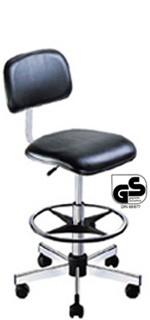 Chaise vinyle à roulettes - Devis sur Techni-Contact.com - 1