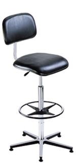 Chaise vinyle repose-pieds - Devis sur Techni-Contact.com - 1