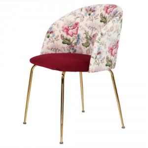 Chaise en velours avec motifs - Devis sur Techni-Contact.com - 1