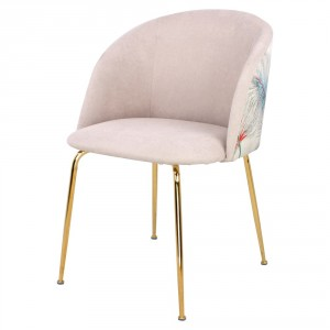Chaise en velours avec motifs - Devis sur Techni-Contact.com - 3