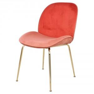 Chaise en velours avec motifs - Devis sur Techni-Contact.com - 6
