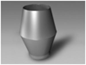Chapeau refoulement vertical - Devis sur Techni-Contact.com - 1
