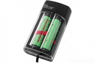 Chargeur 2 accus par port USB avec 4 piles - Devis sur Techni-Contact.com - 1
