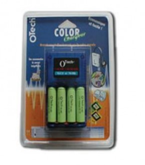 Chargeur avec 4 piles - Devis sur Techni-Contact.com - 1