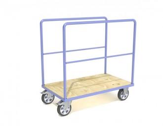 Chariot 1 à 4 ridelles charge longue - Devis sur Techni-Contact.com - 1