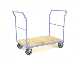 Chariot 1 à 4 ridelles charge longue - Devis sur Techni-Contact.com - 2