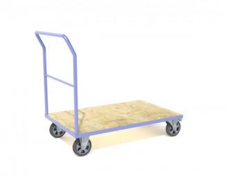 Chariot 1 à 4 ridelles charge longue - Devis sur Techni-Contact.com - 3