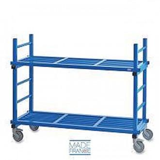 Chariot 2 plateaux pour piscine - Devis sur Techni-Contact.com - 1