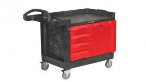 Chariot 4 tiroirs et 1 porte - Devis sur Techni-Contact.com - 1