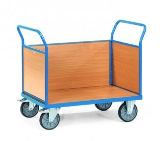 Chariot à 3 ridelles multi-usages - Devis sur Techni-Contact.com - 1