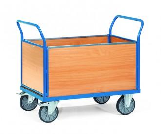 Chariot à 4 ridelles en bois - Devis sur Techni-Contact.com - 1