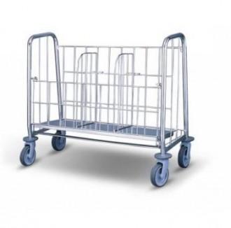 Chariot à assiettes en inox - Devis sur Techni-Contact.com - 1