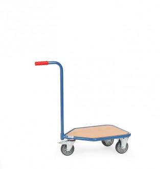 Chariot à col de cygne en tube d'acier - Devis sur Techni-Contact.com - 1