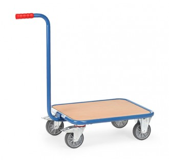 Chariot à col de cygne plateau bois - Devis sur Techni-Contact.com - 1