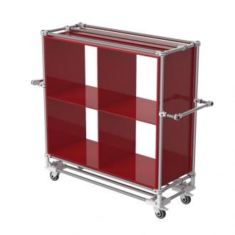 Chariot à compartiments - Devis sur Techni-Contact.com - 1
