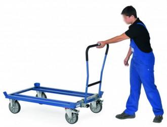 Chariot à dossier de manutention - Devis sur Techni-Contact.com - 1