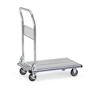 Chariot à dossier pliable aluminium - Devis sur Techni-Contact.com - 1